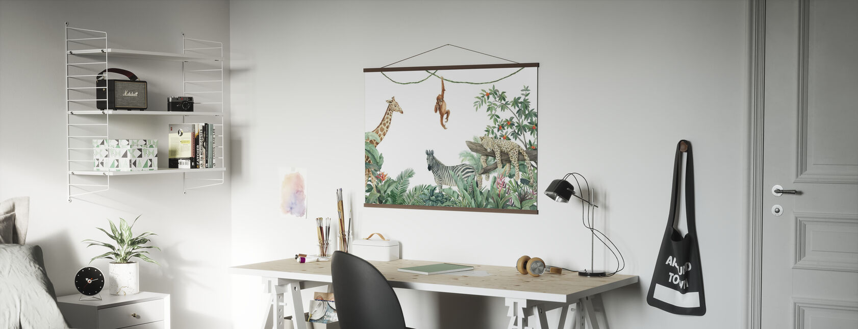 Jungle Friends - Poster - Office