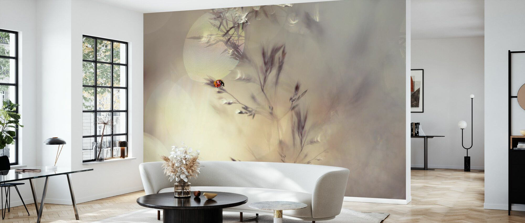 Little Lady - Wallpaper - Living Room