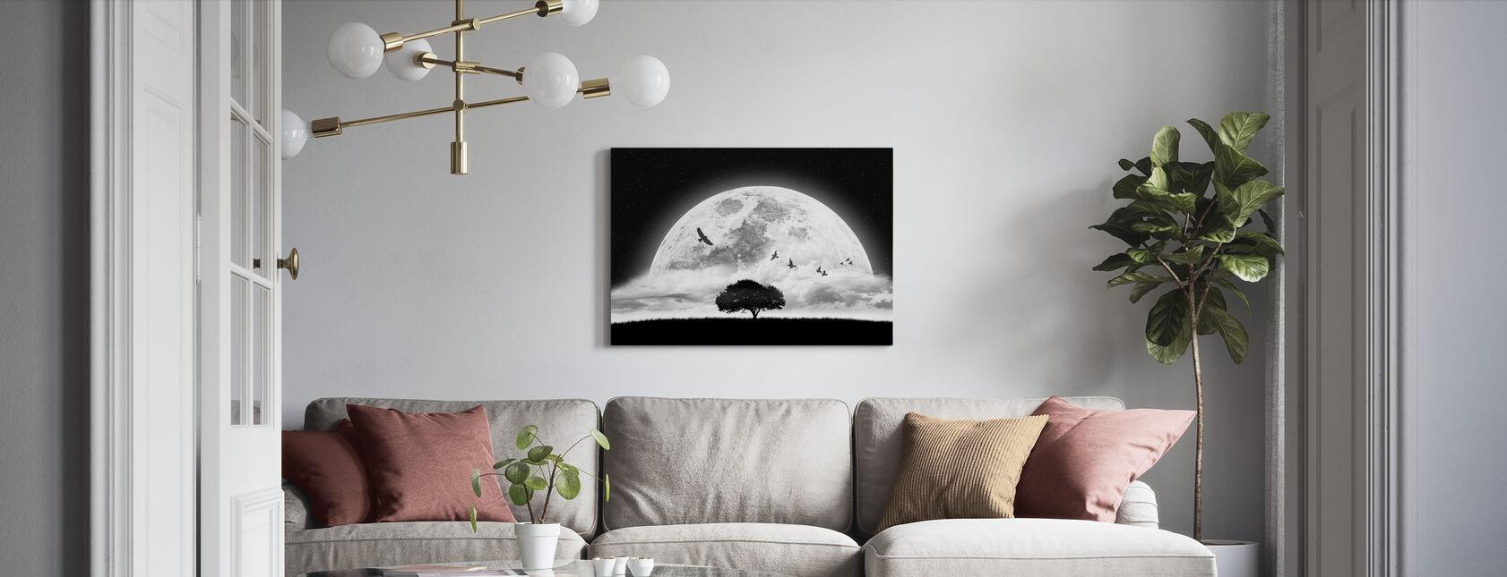 Unelma - Canvastaulu - Olohuone