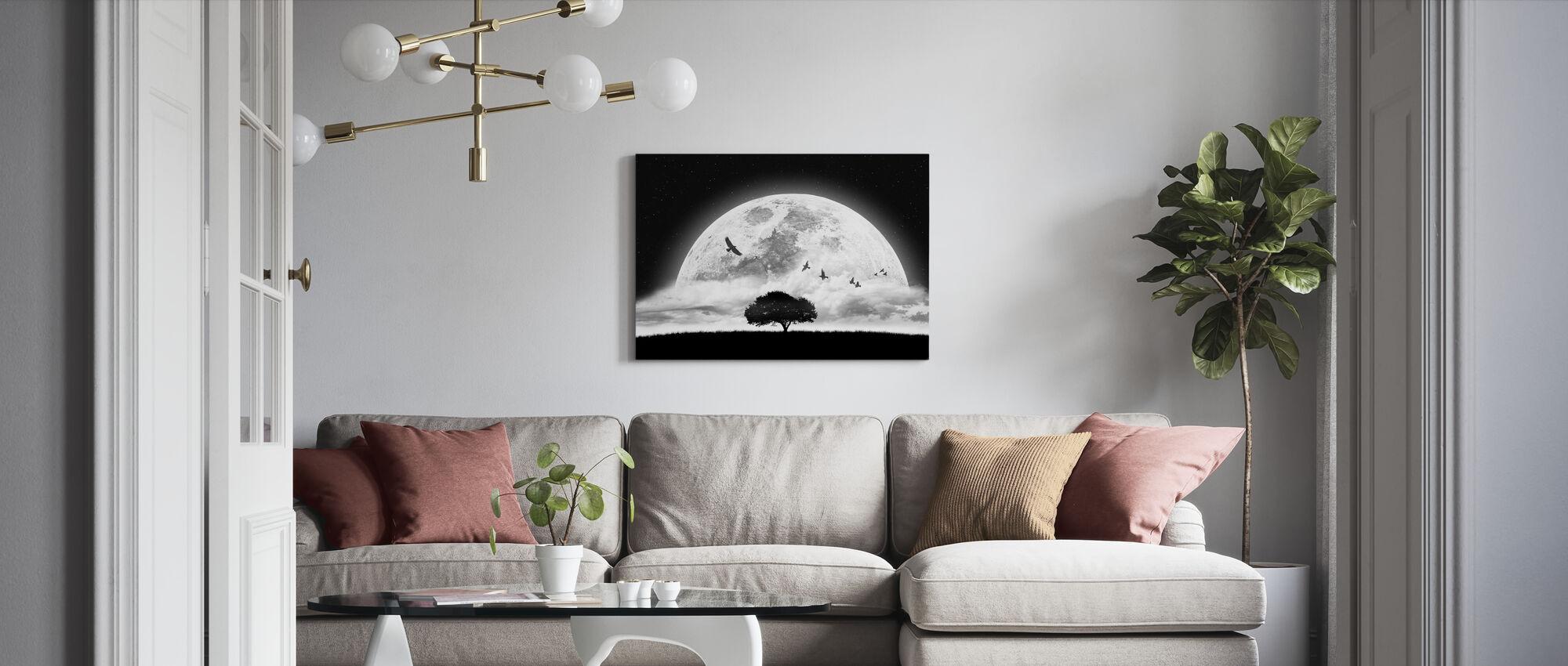 Dröm - Canvastavla - Vardagsrum