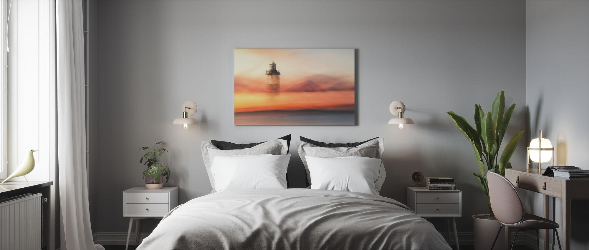 Kadonnut merellä - Canvastaulu - Makuuhuone