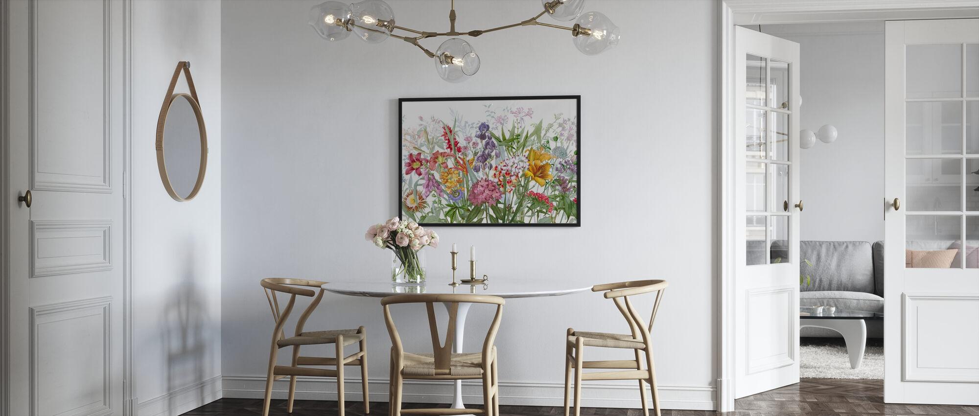 Världen blommar - Poster - Kök