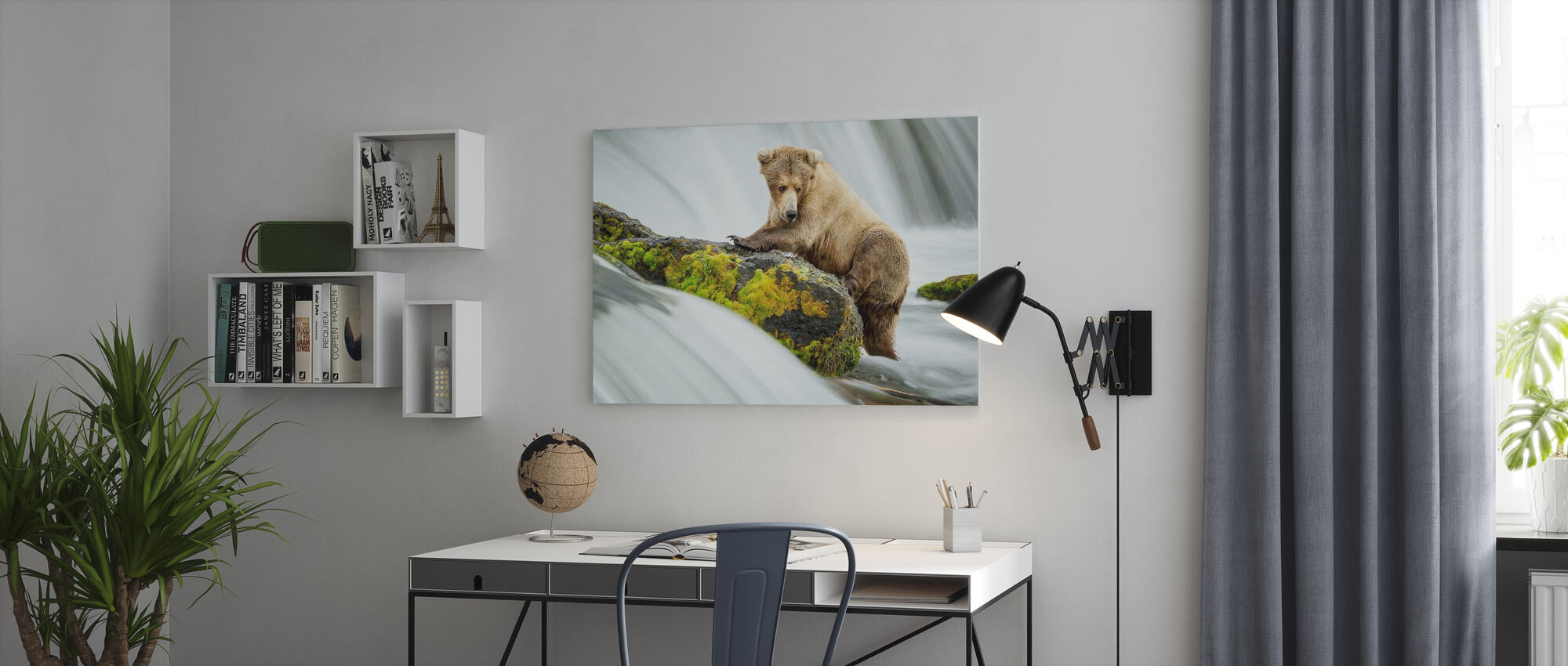 Left Wanting - Canvas print - Office