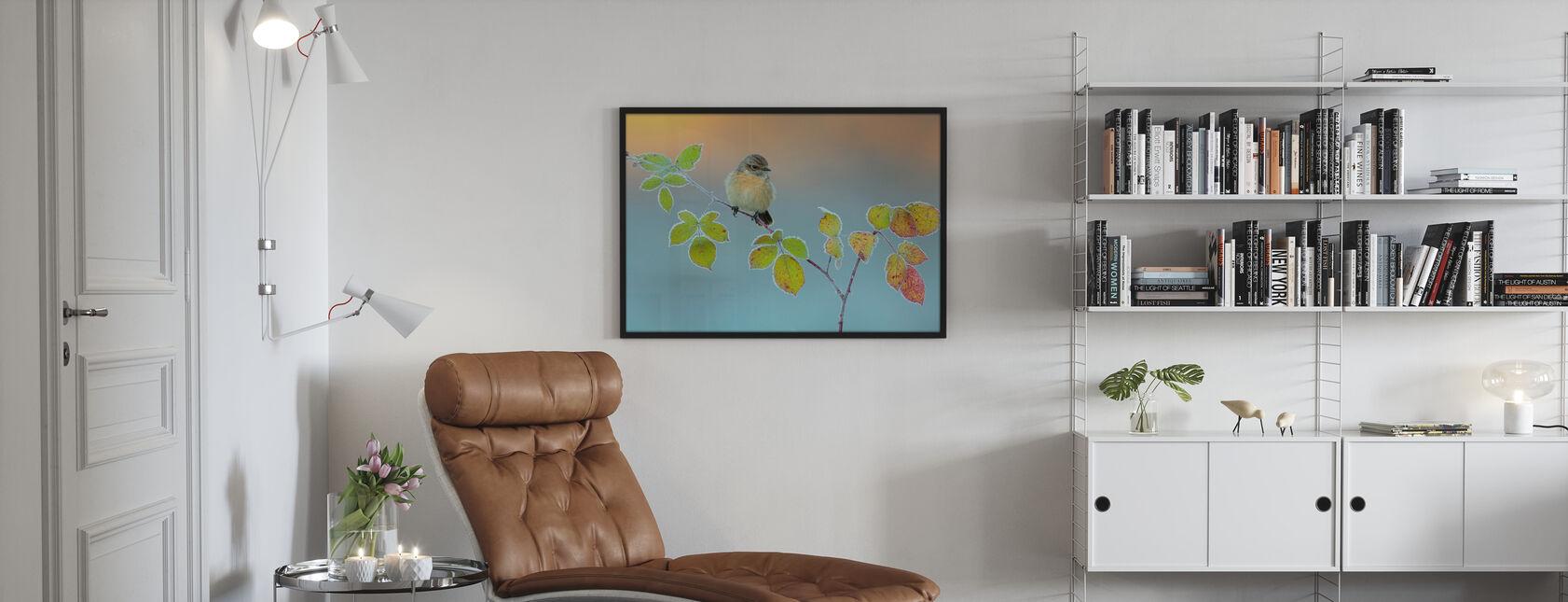 Vinter färger - Inramad tavla - Vardagsrum