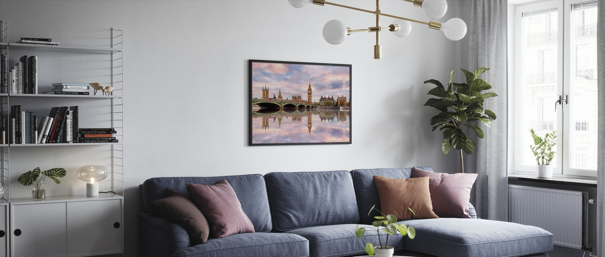 Sunset to Remember - Poster - Living Room