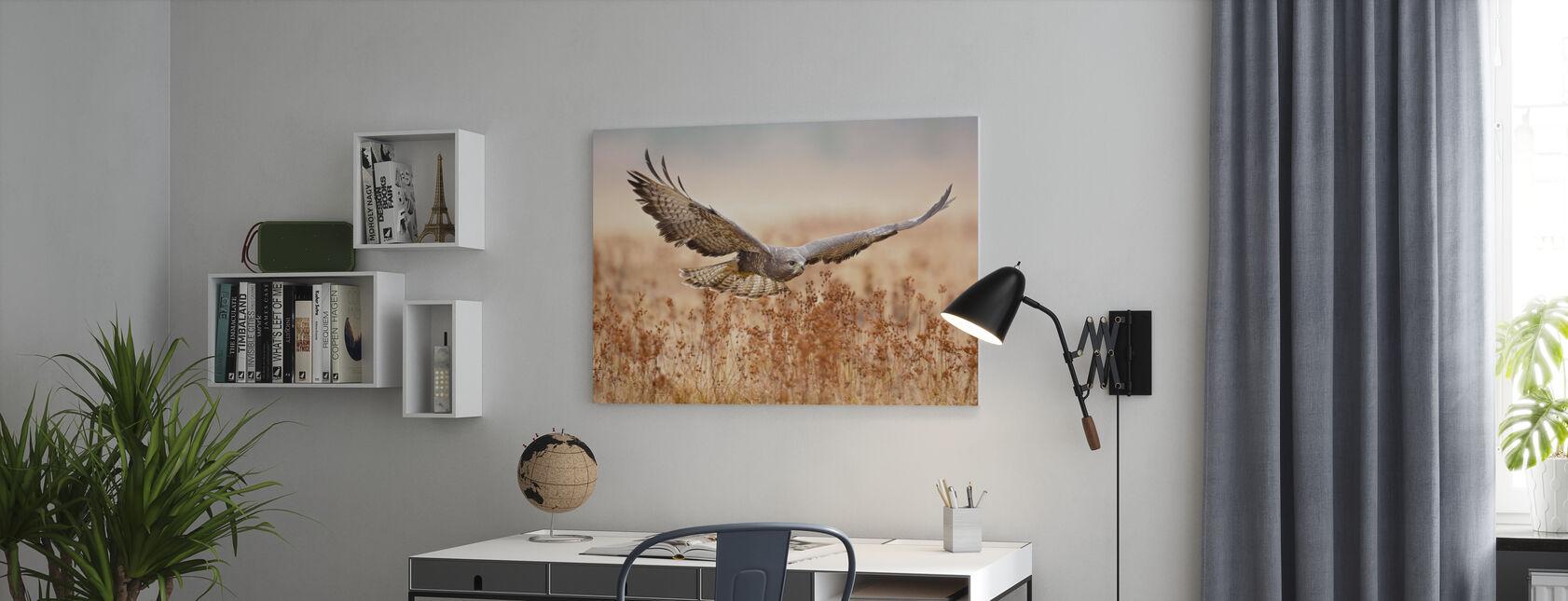 Buizerd - Canvas print - Kantoor