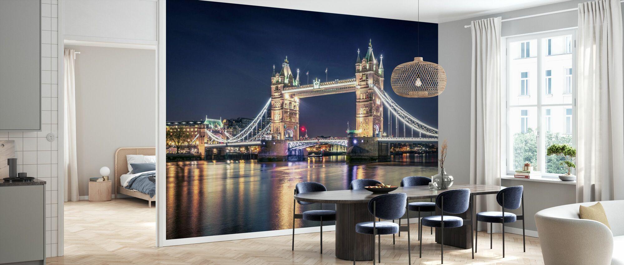 Night at the Tower Bridge - Wallpaper - Kitchen