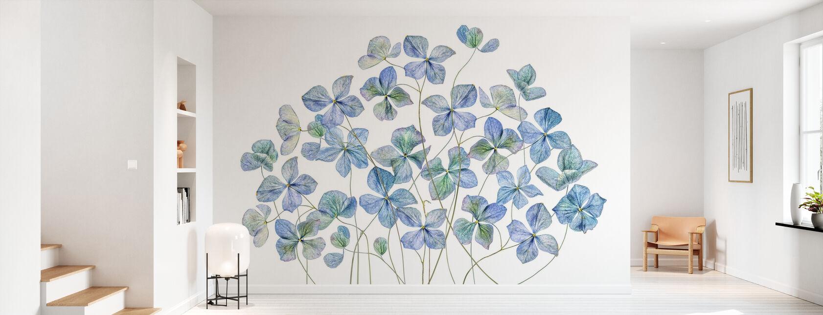 Hydrangea - Wallpaper - Hallway