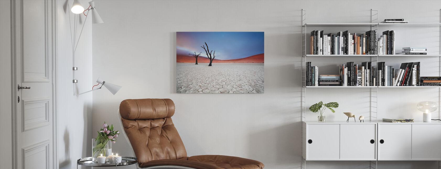 Mist over Deadvlei - Canvas print - Living Room