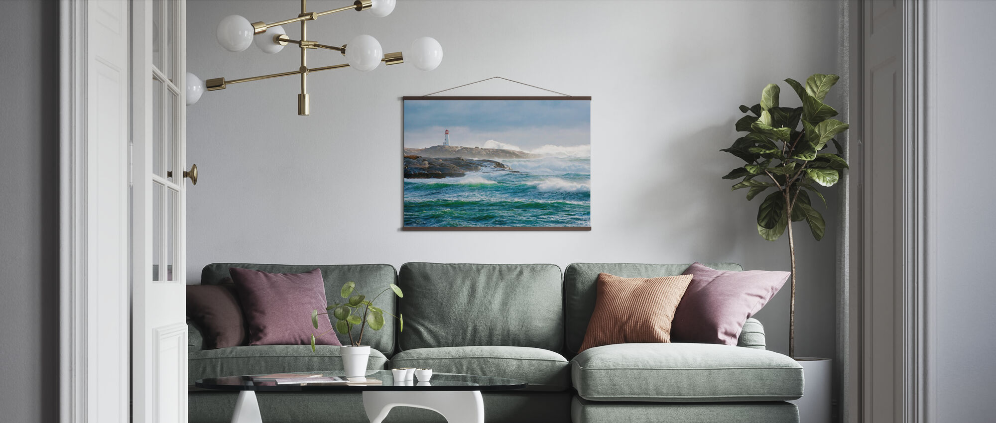 Protection of a Lighthouse - Poster - Living Room
