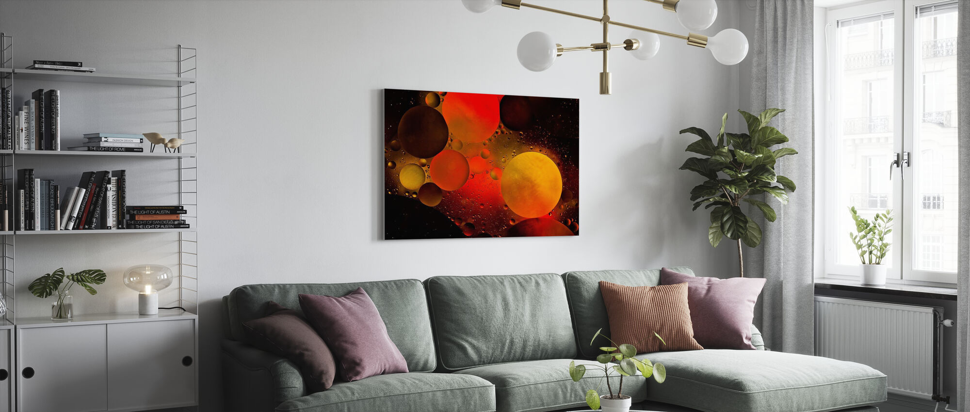 Astronomical - Canvas print - Living Room