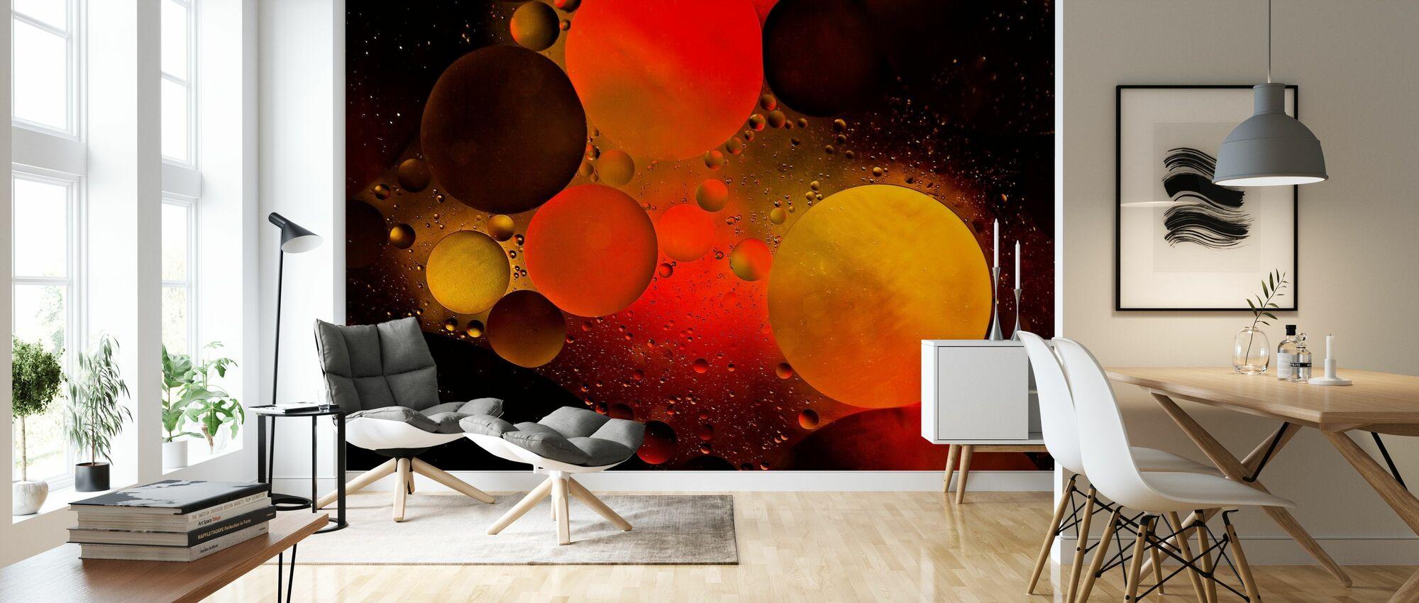 Astronomisch - Tapete - Wohnzimmer