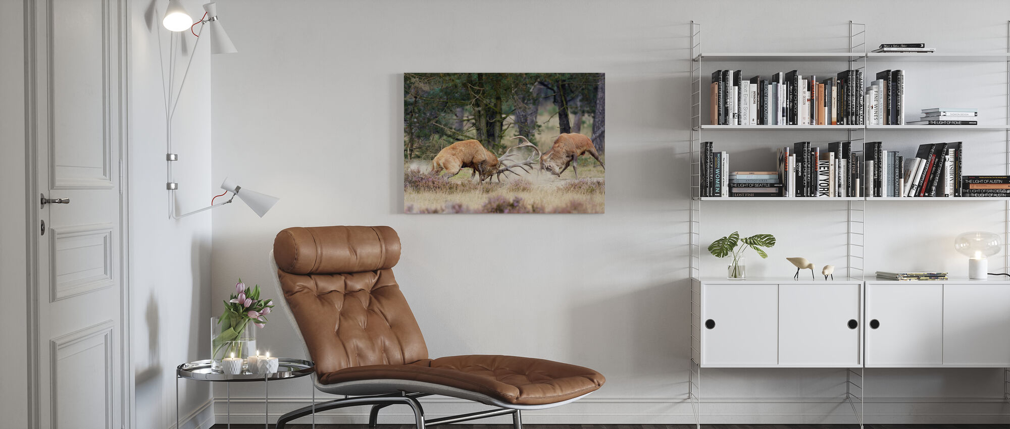 Clash of the Titans - Canvas print - Living Room