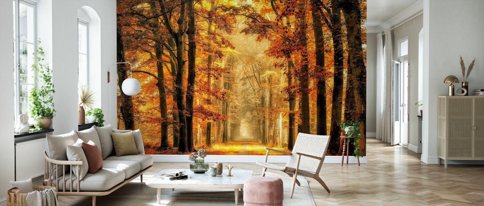 Exit the Portal - Wallpaper - Living Room