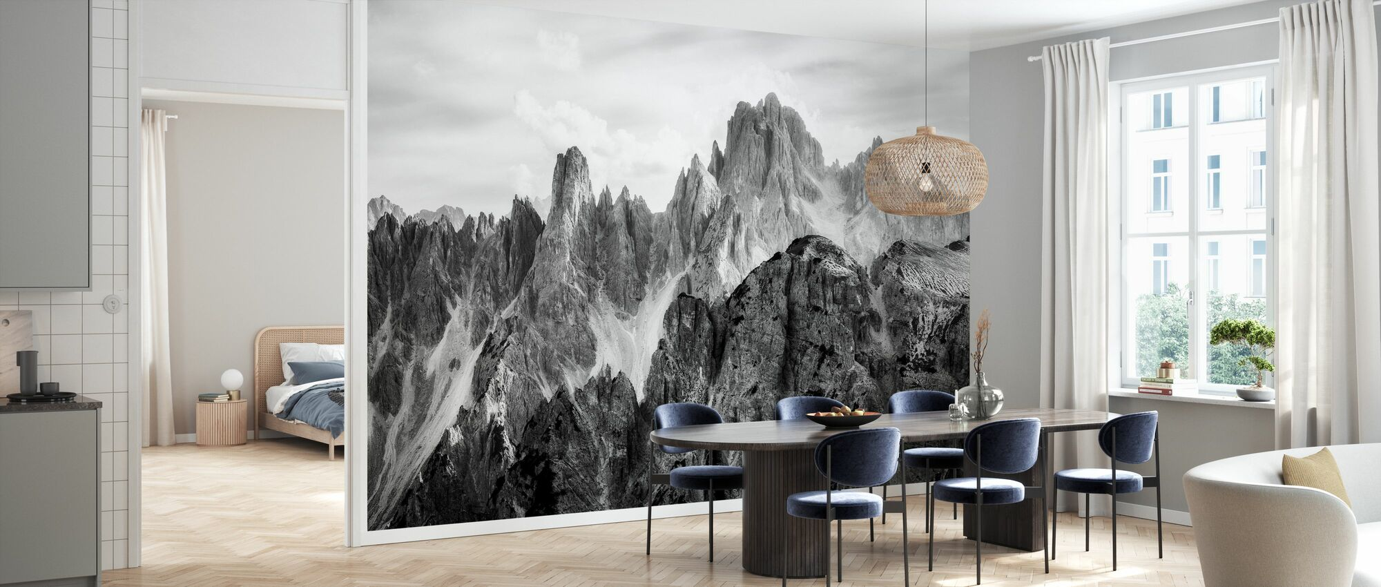 Peaks - Wallpaper - Kitchen
