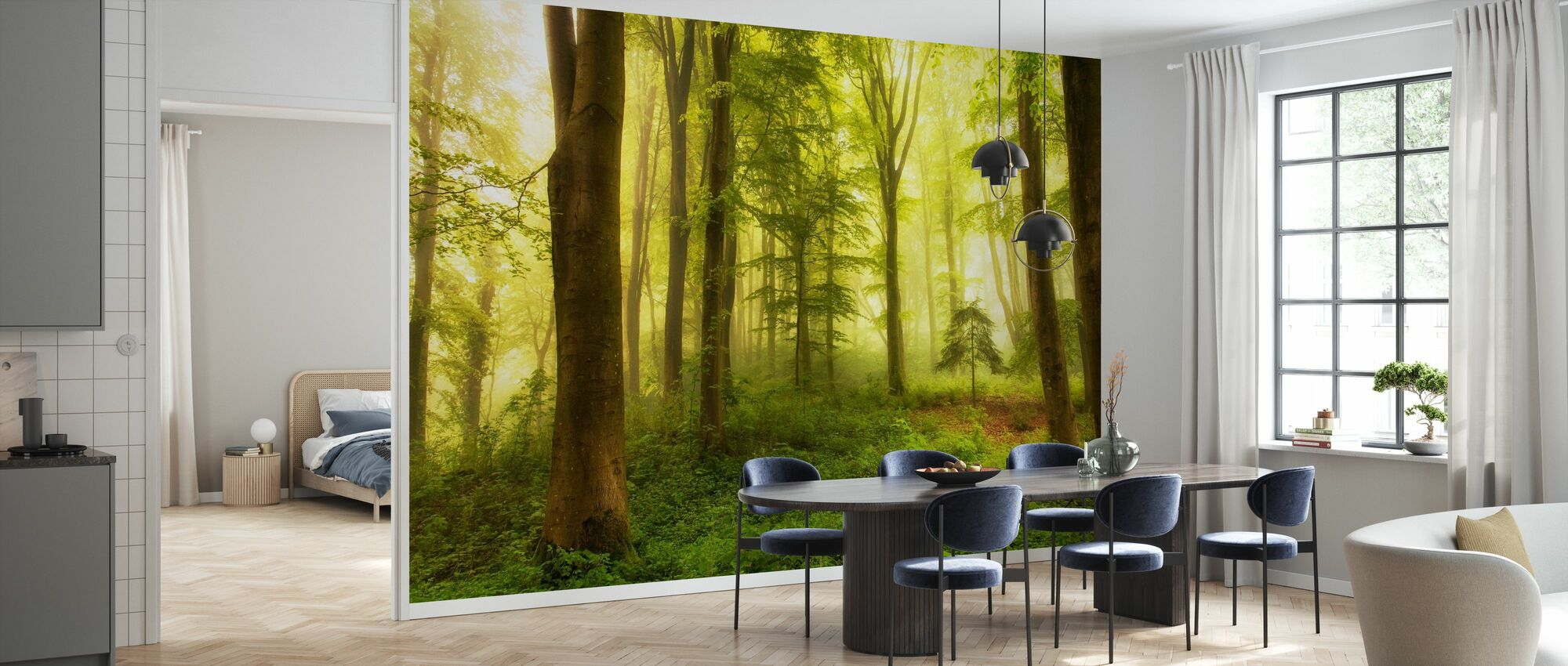 Little Tree - Wallpaper - Kitchen