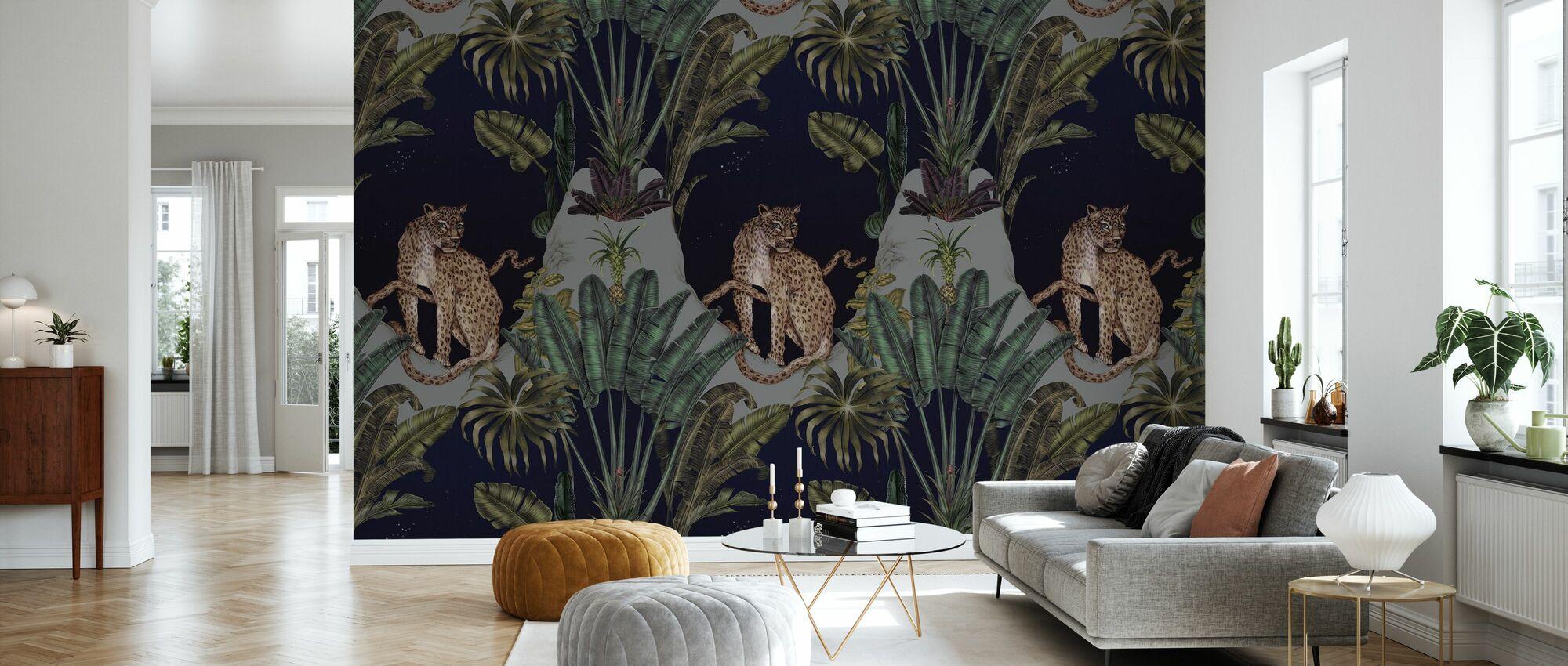Persisk Leopard - Tapet - Stue