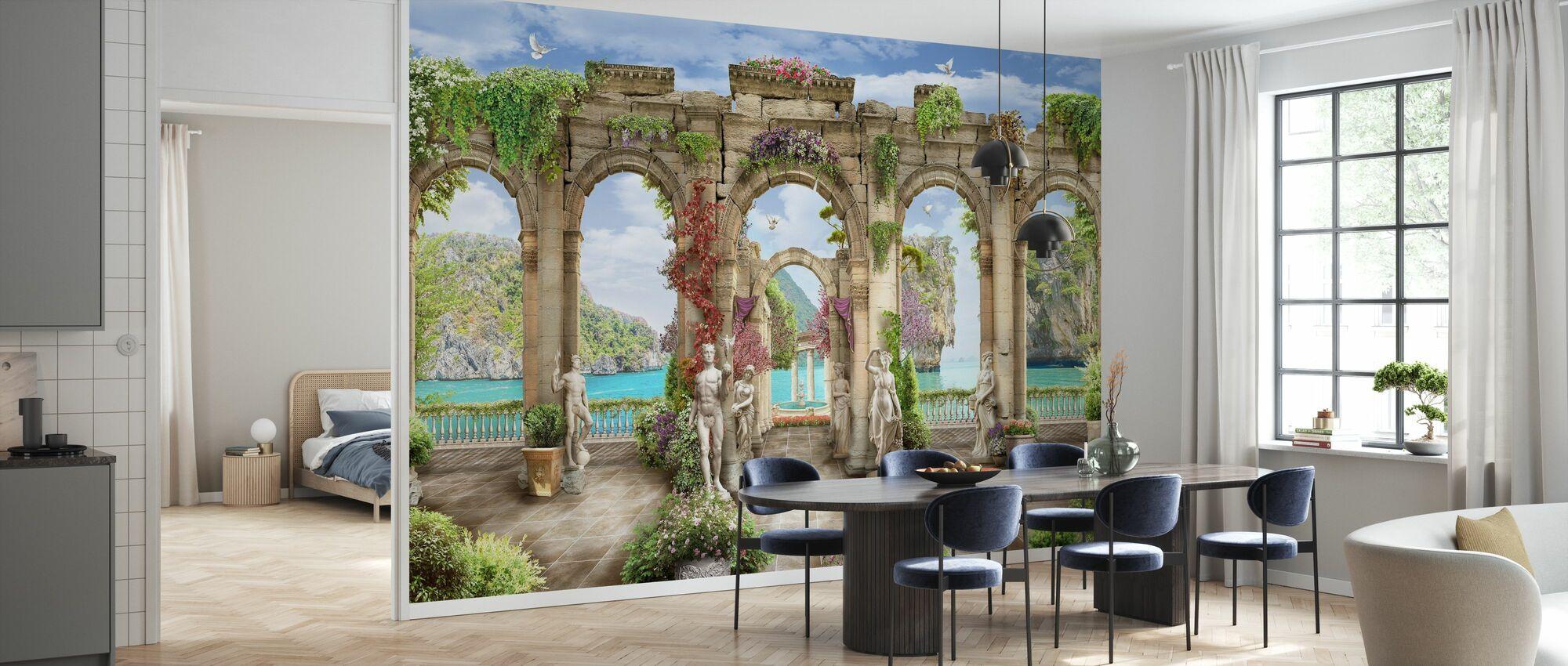 Palmyra - Wallpaper - Kitchen