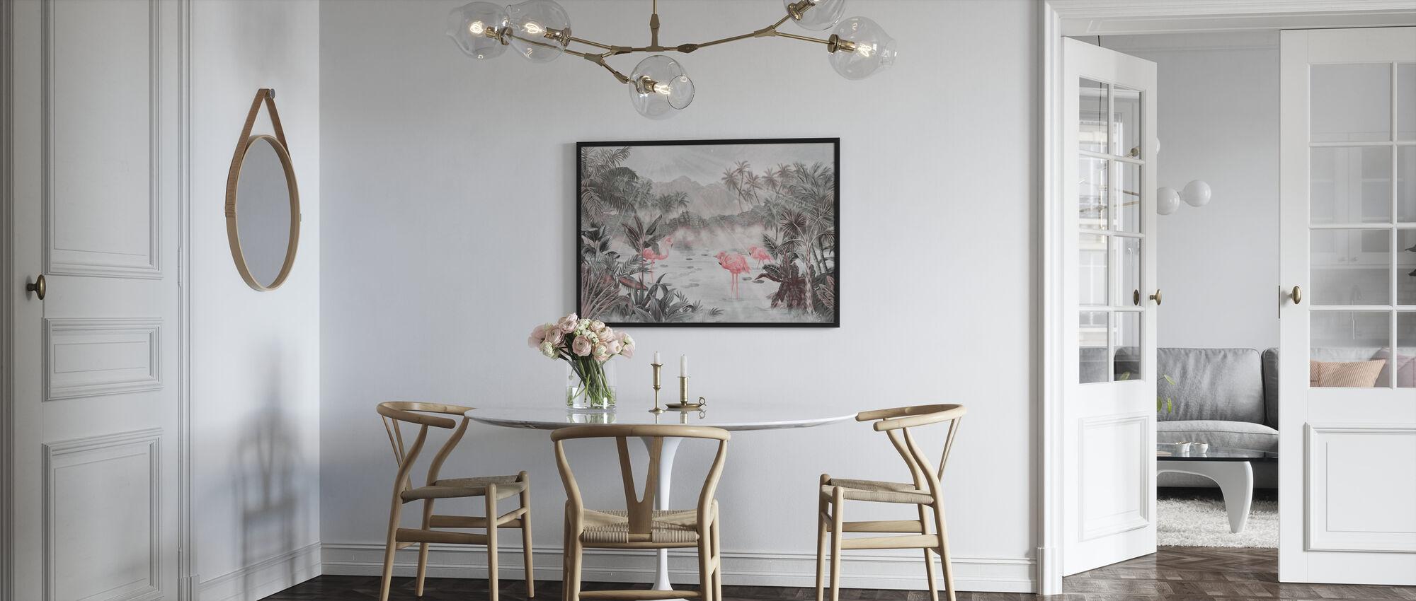 Flamingo Essay - Parel - Poster - Keuken