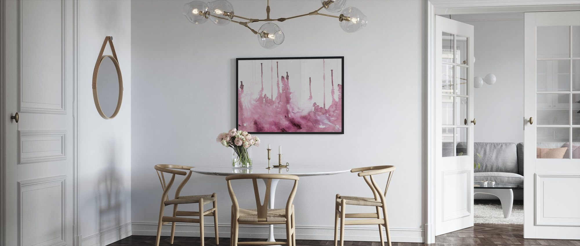 Watercolor Study - Rosé - Poster - Kitchen