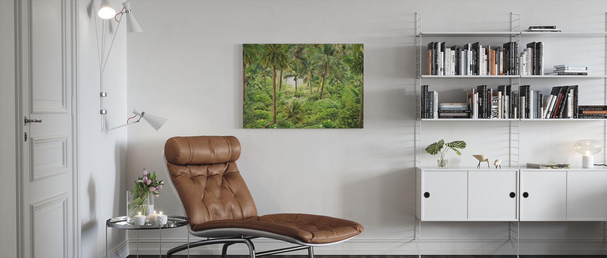 Jungle Essay - Canvas print - Living Room