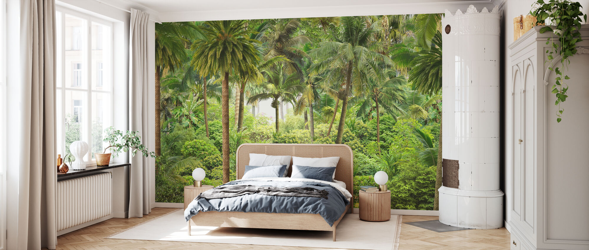 Jungle essay - Behang - Slaapkamer
