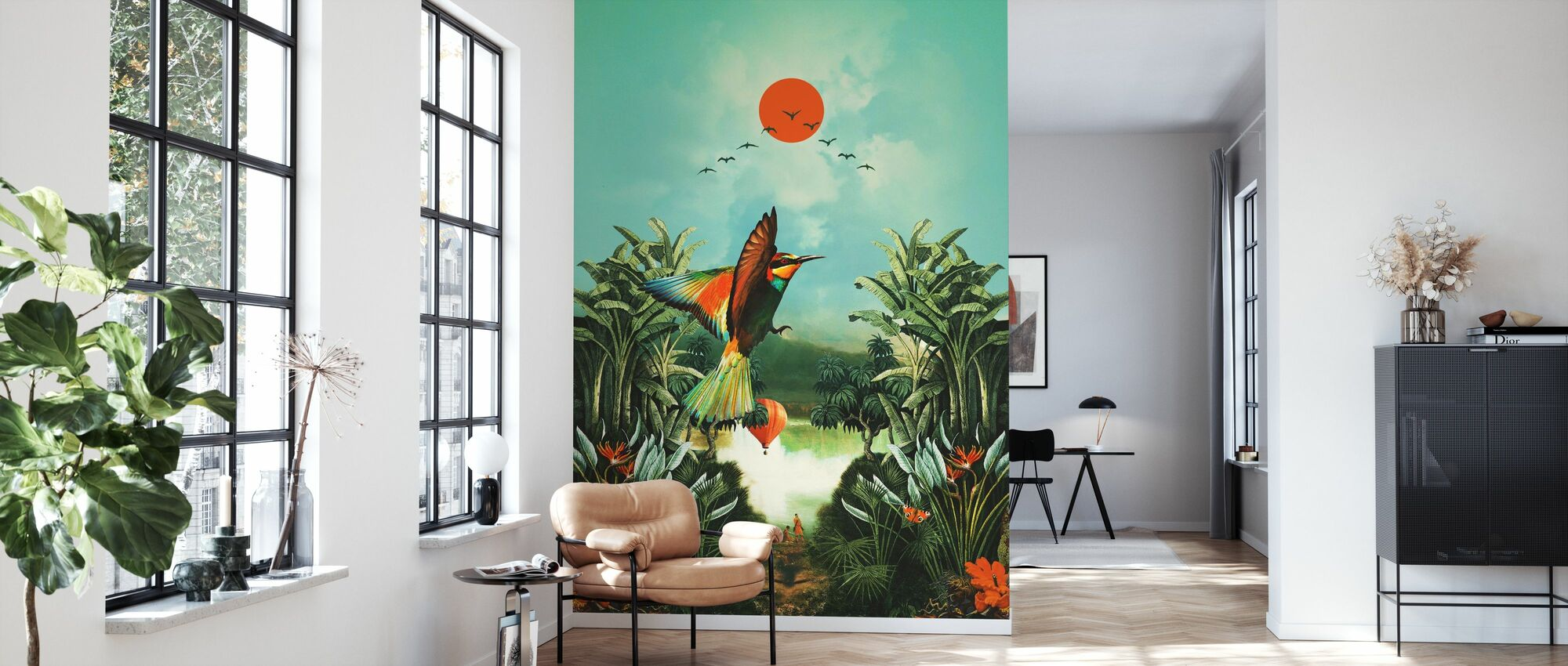 Wonderland - Wallpaper - Living Room