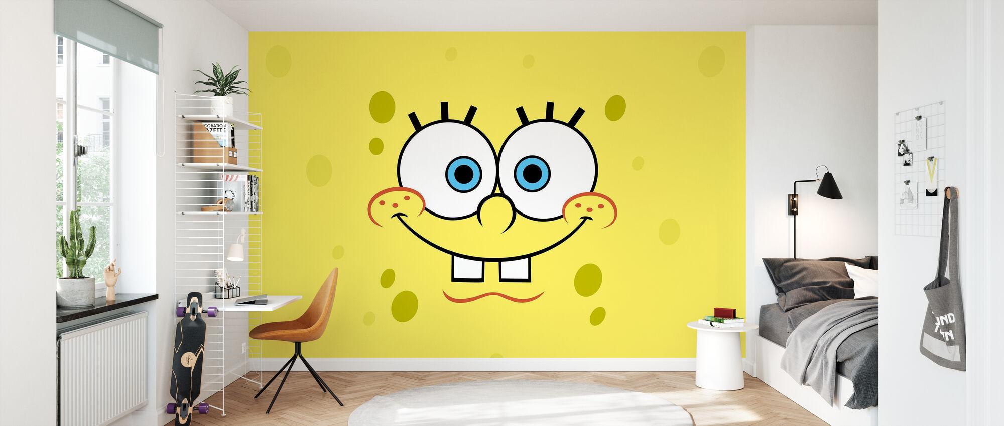 Sponge Bob - The Joyful Sea Sponge - Tapete - Kinderzimmer