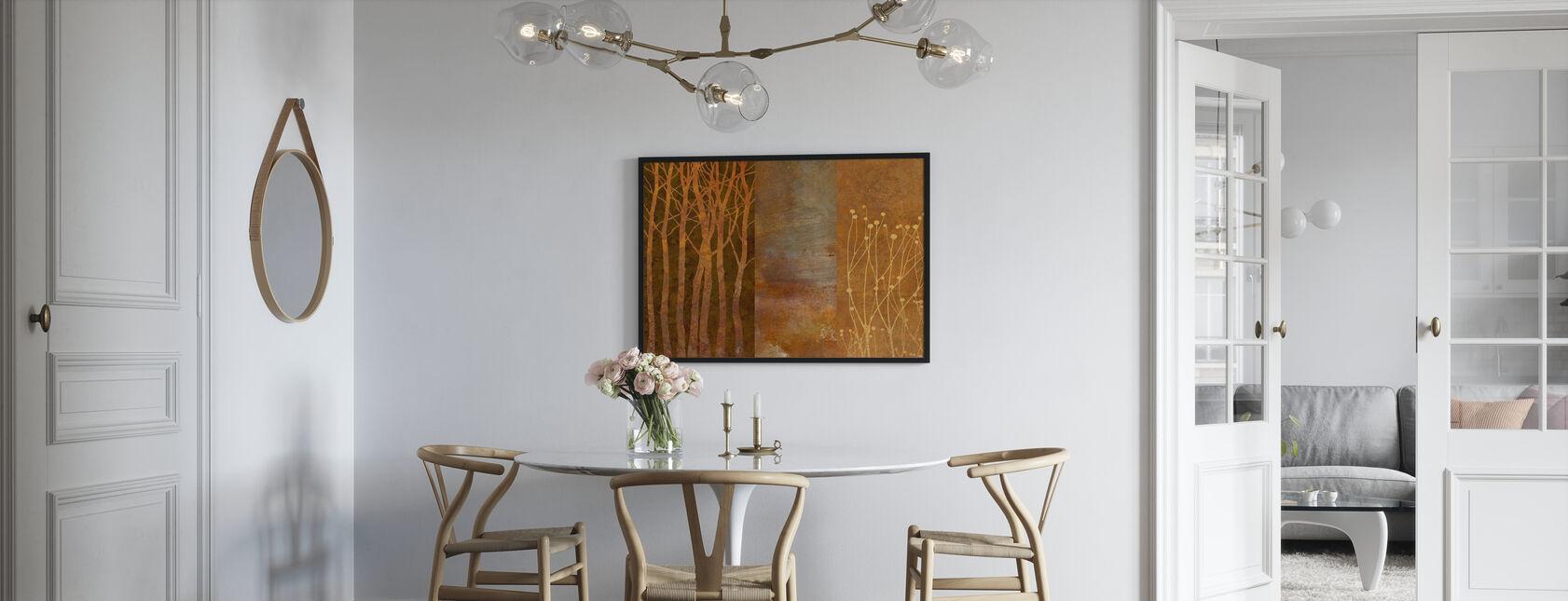Collage i kobber - Plakat - Køkken