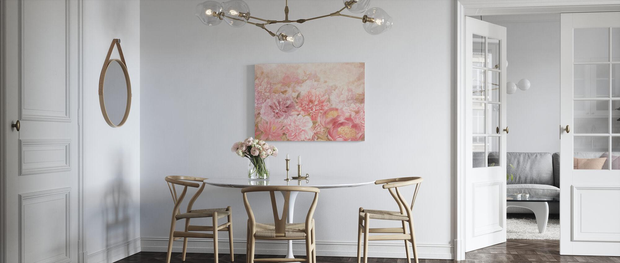 Dreamy Flowers - Canvas print - Kitchen