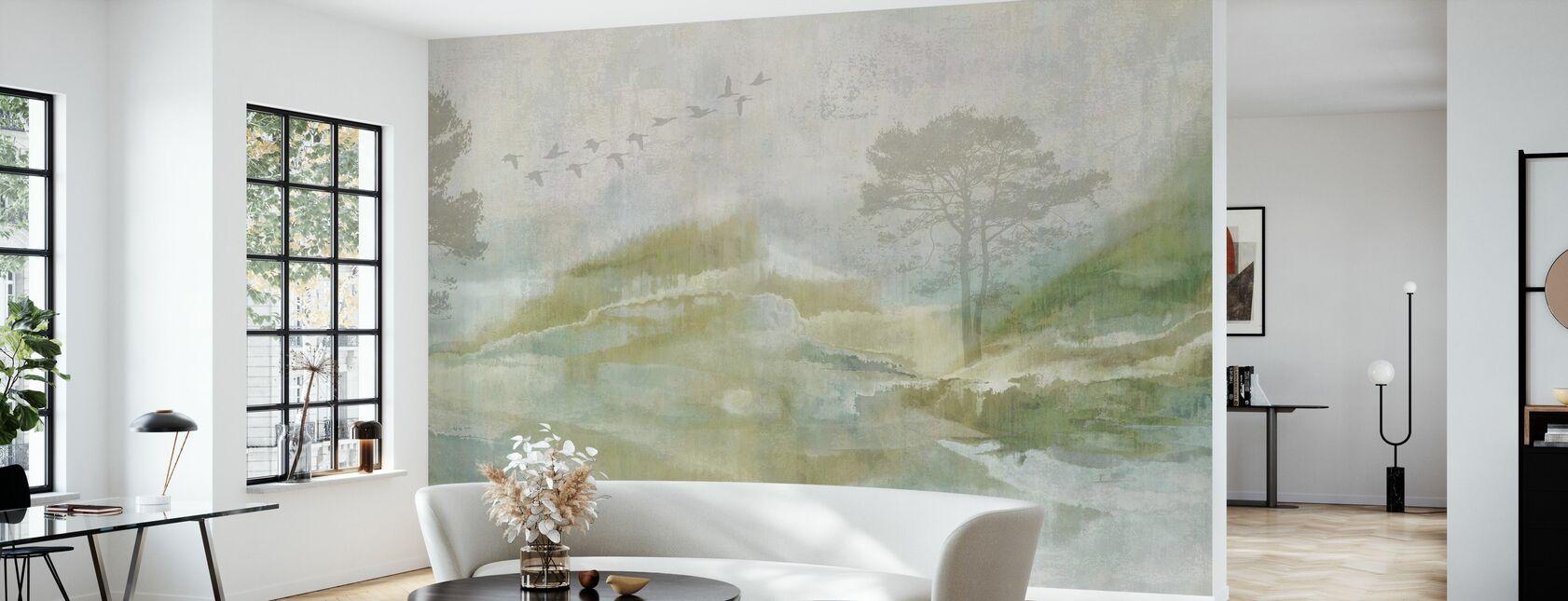 Dreamy Landscape - Wallpaper - Living Room