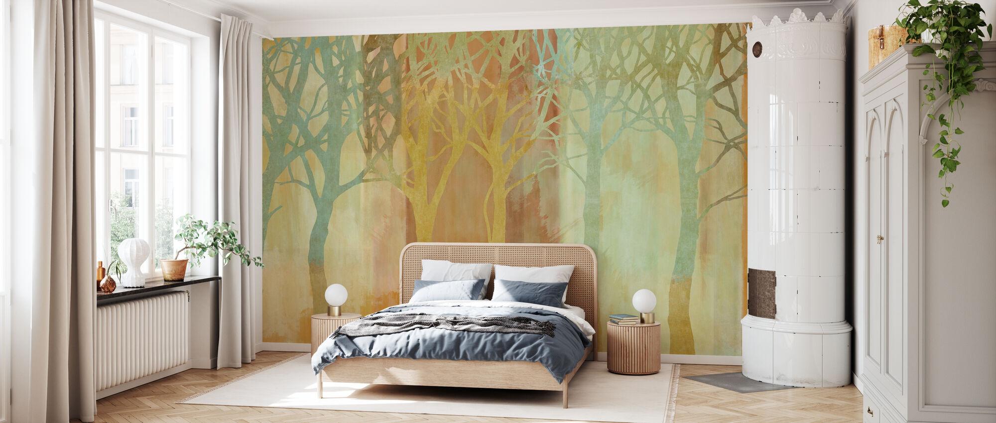 Row of Trees - Wallpaper - Bedroom