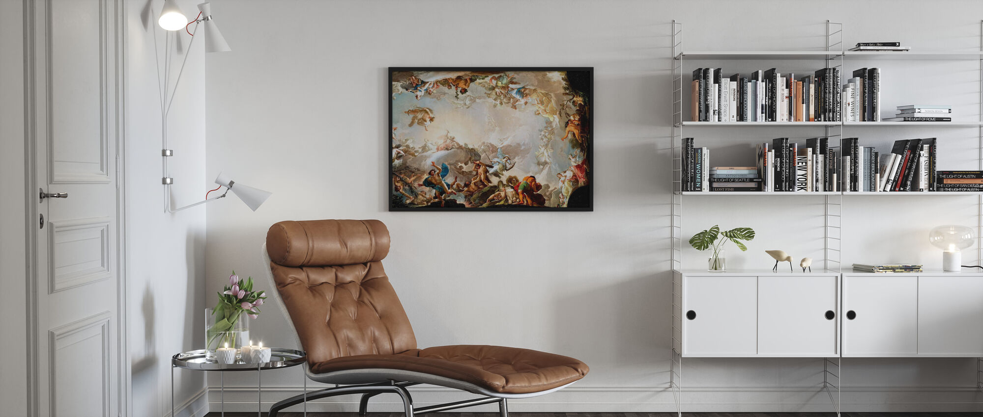 Renaissance Circle - Poster - Living Room