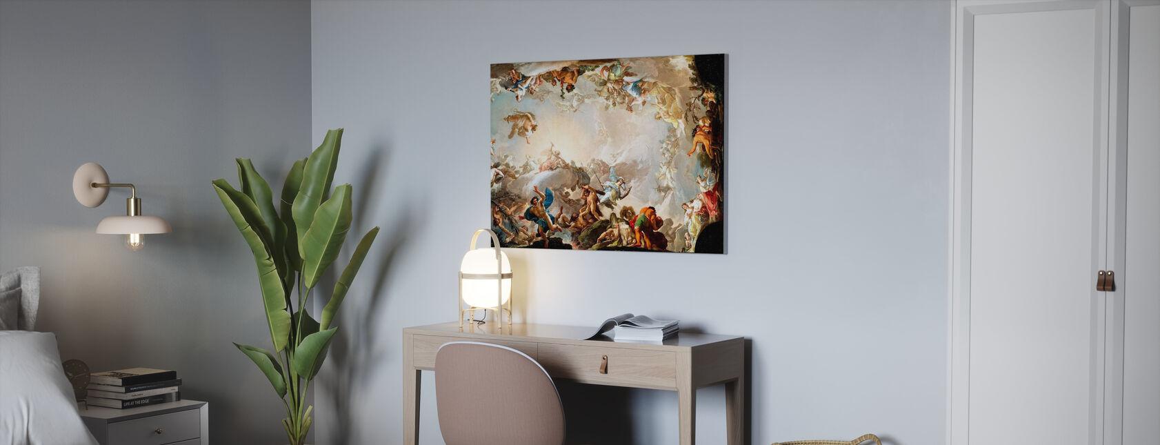 Cercle Renaissance - Impression sur toile - Bureau