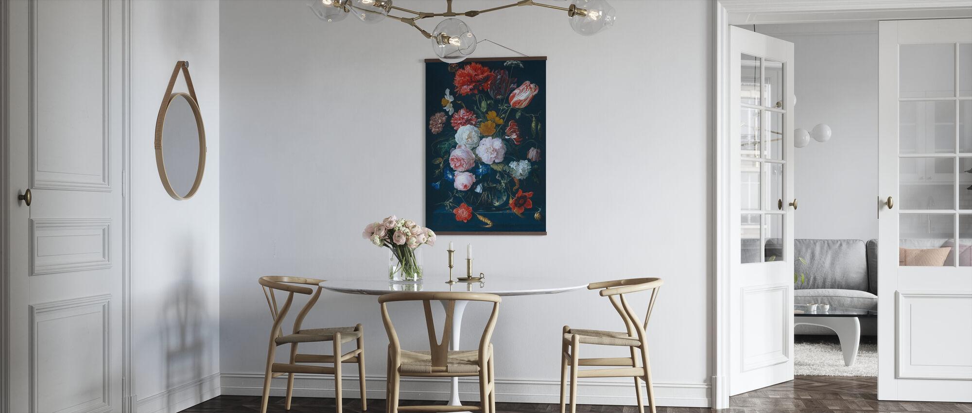 Blomsterarrangemang från 1700-talet - Poster - Kök