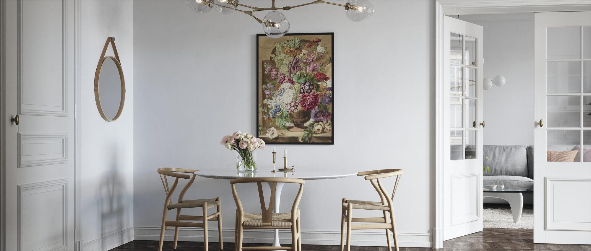 Bukett med blommor - Poster - Kök