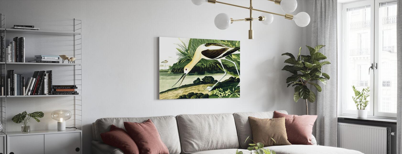 Jaskółka stodoła - John James Audubon - Obraz na płótnie - Pokój dzienny