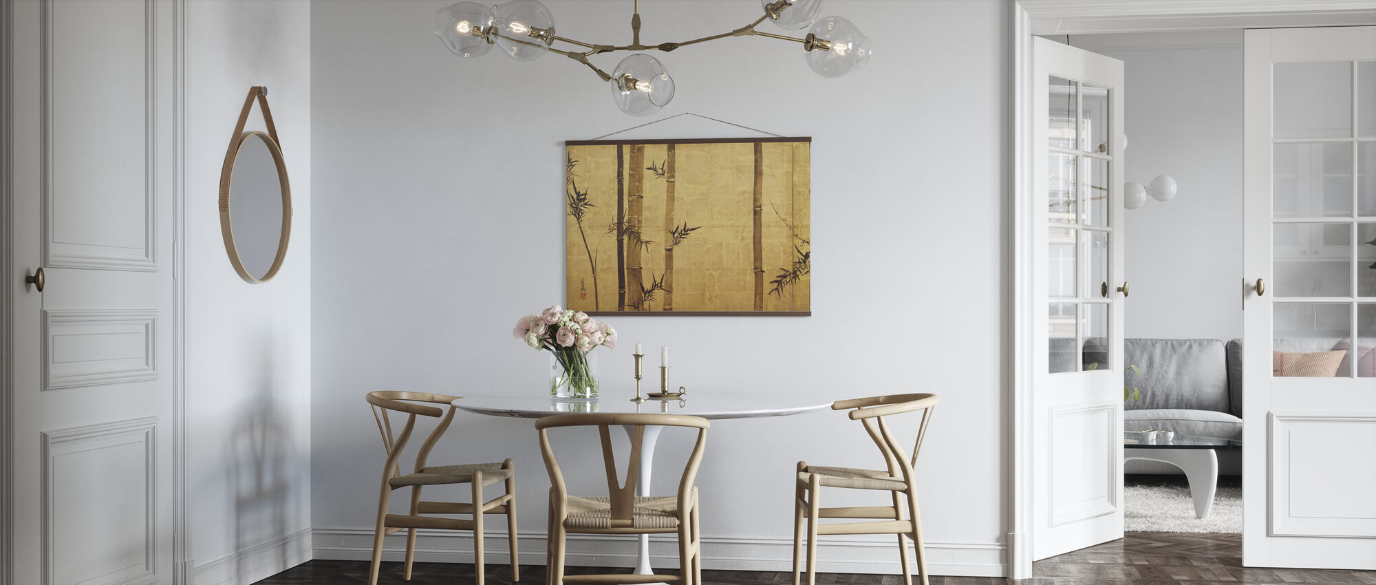 Bambus Zen - Plakat - Kjøkken