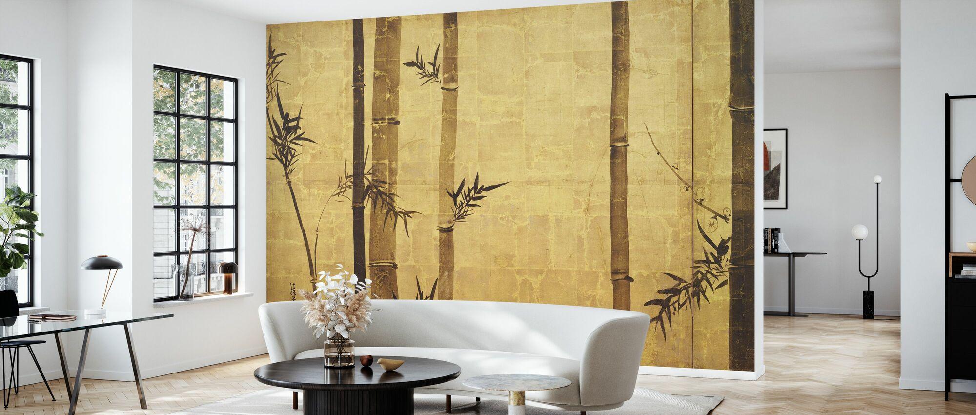 Bambù Zen - Carta da parati - Salotto