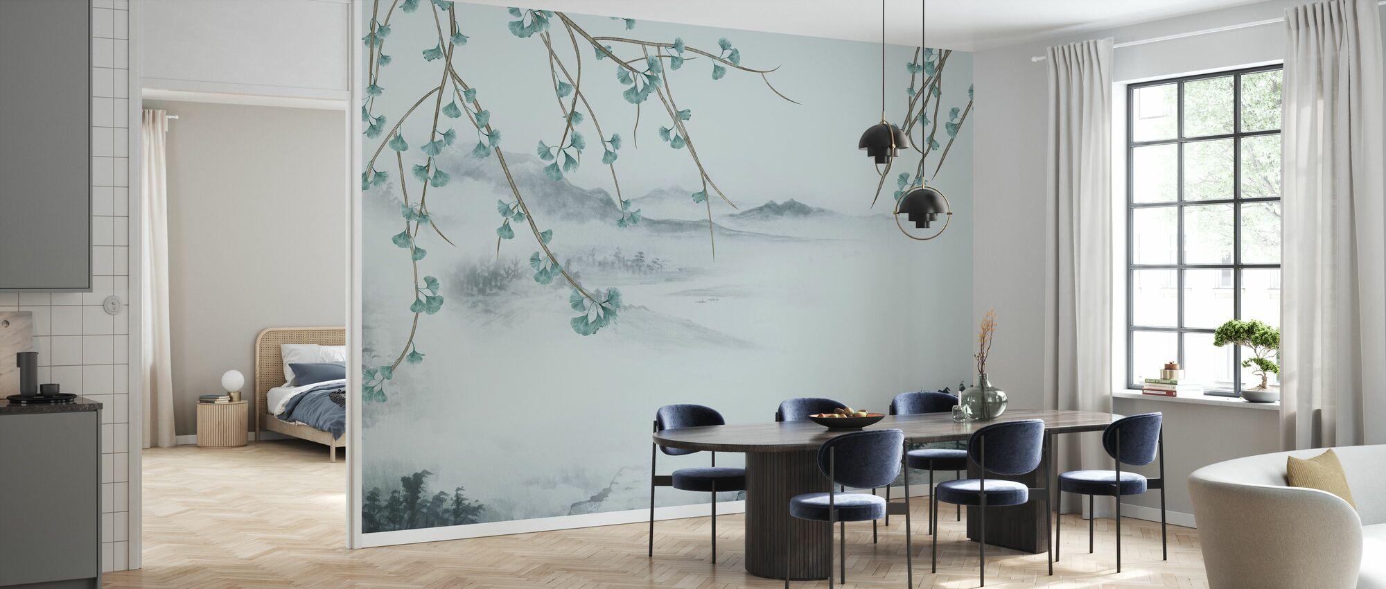 Chinese Scenery - Wallpaper - Kitchen
