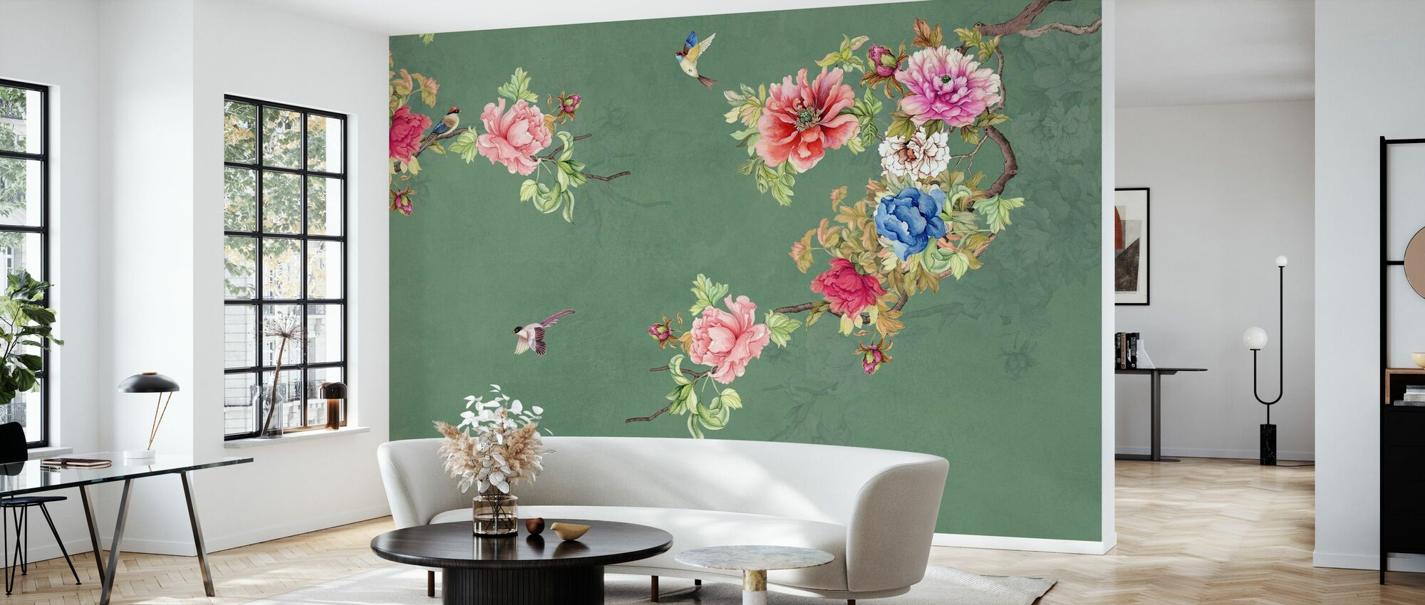 Blooming Coco - Wallpaper - Living Room
