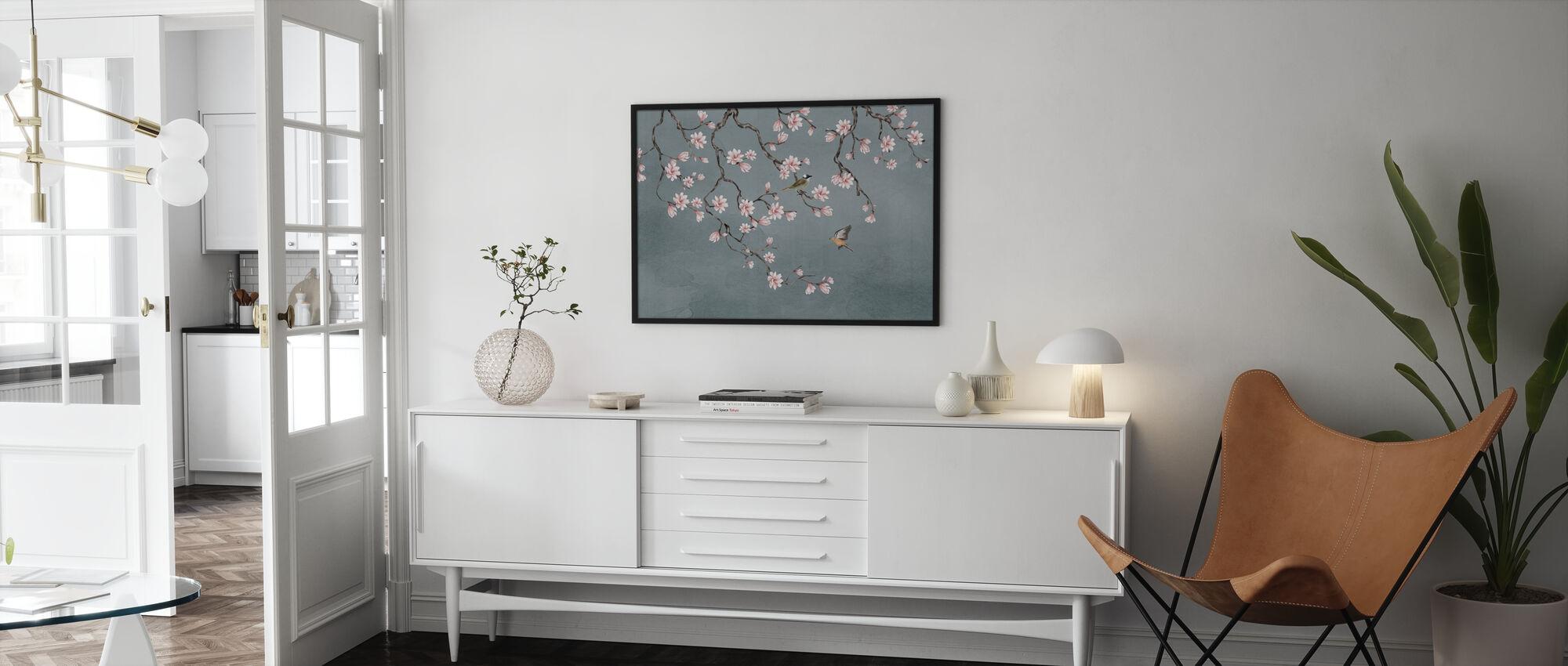 Birds Meeting Place - Framed print - Living Room