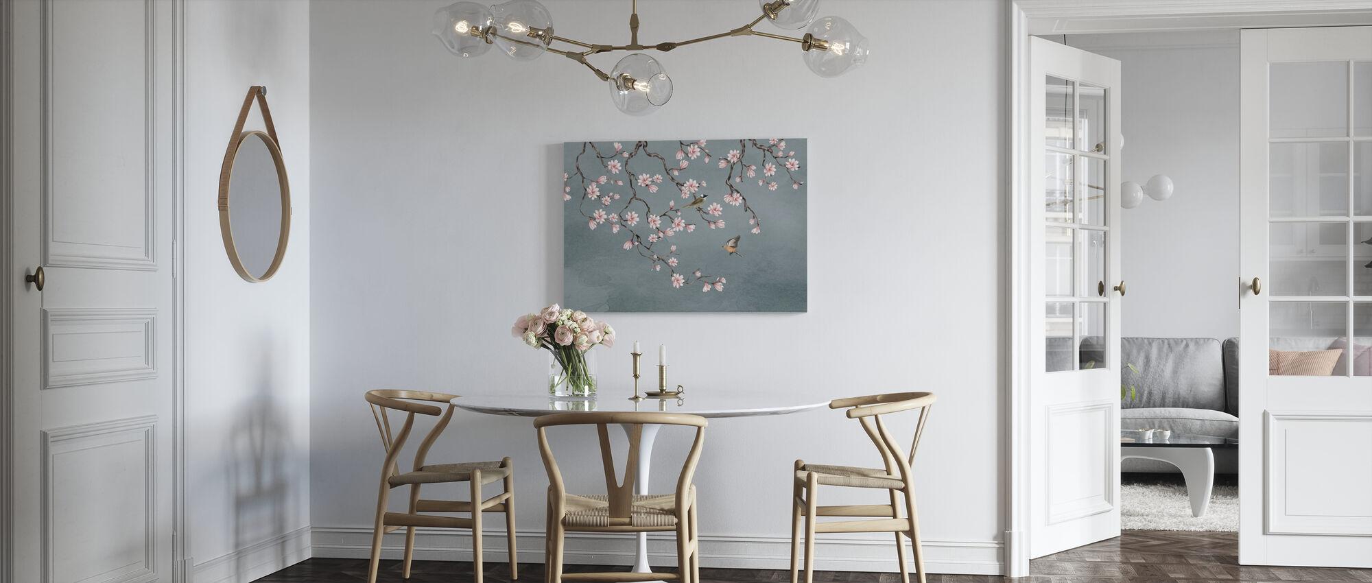 Birds Meeting Place - Canvas print - Kitchen