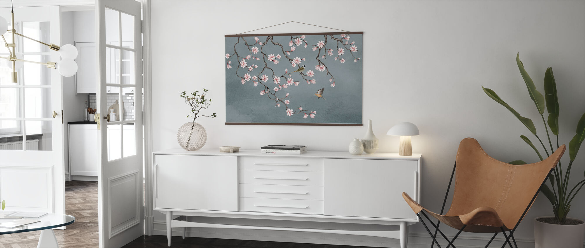 Birds Meeting Place - Poster - Living Room