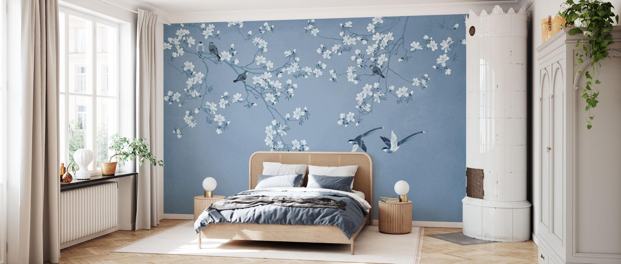Fliegen und Spielen - Tapete - Schlafzimmer