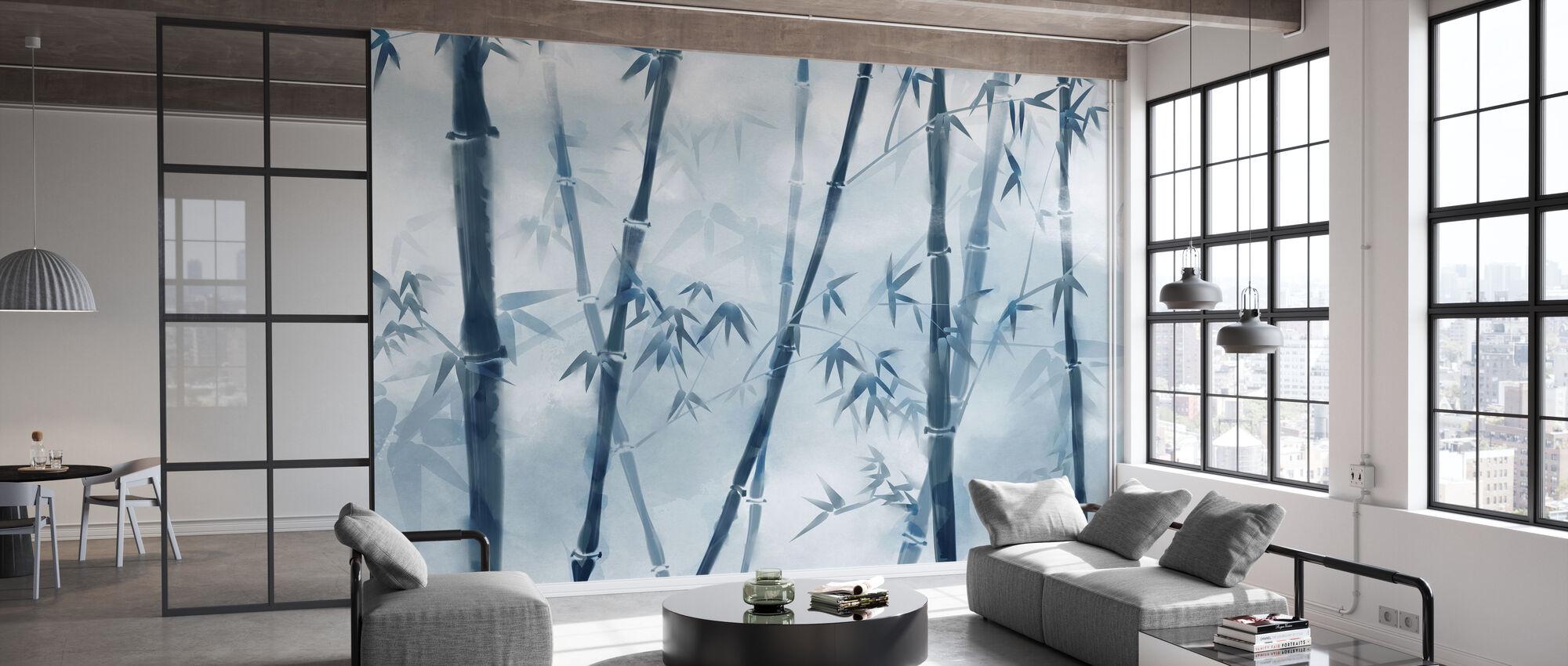 Bambu valaiseva - Tapetti - Toimisto