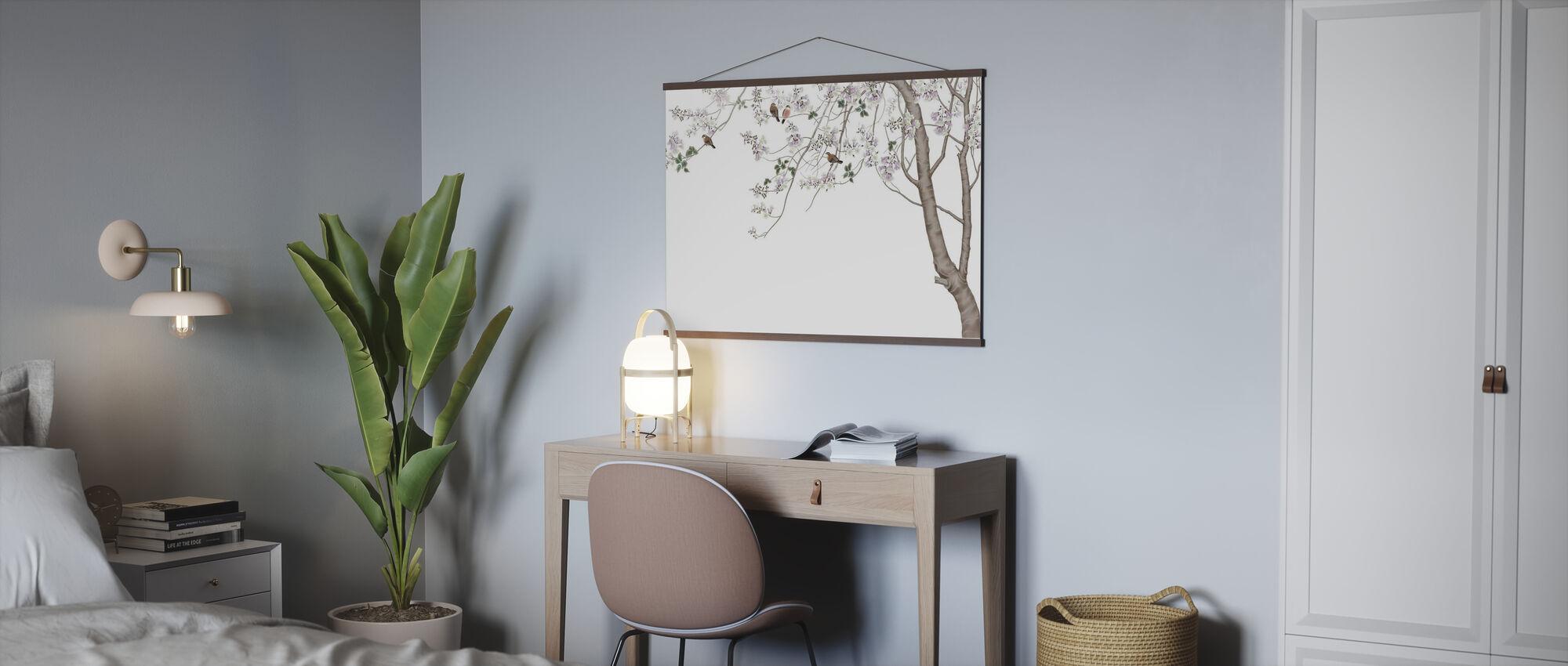 Bird Tree - Poster - Office