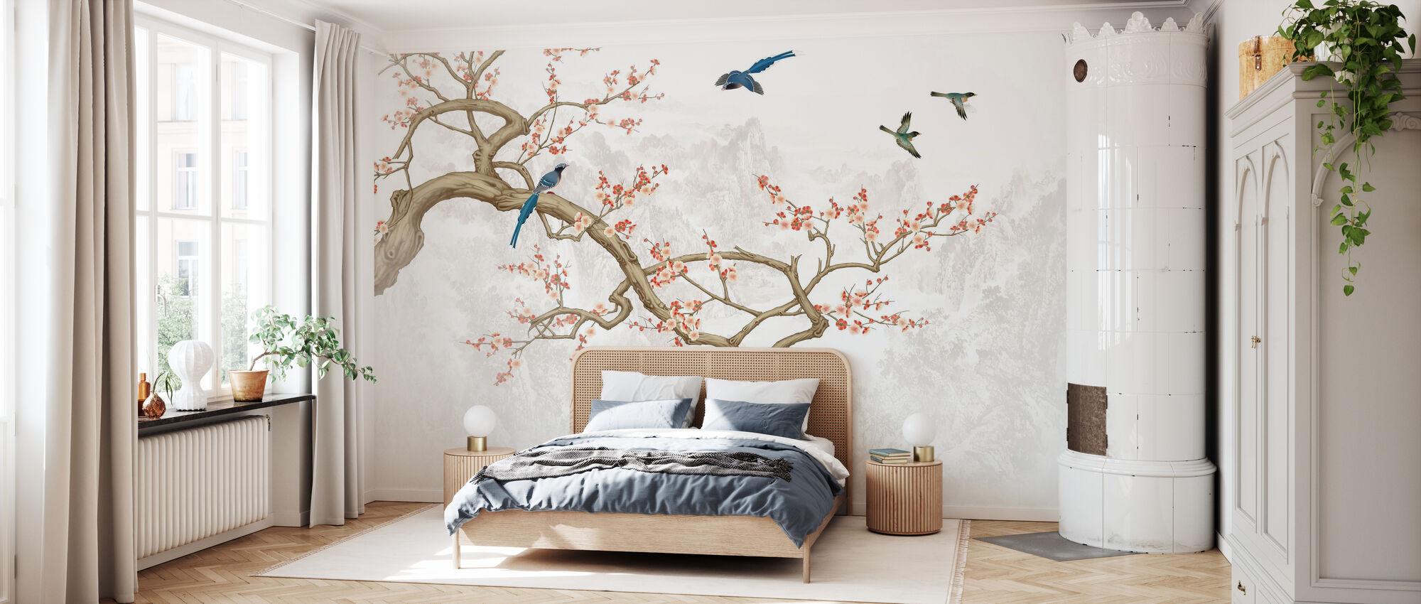 Altezze degli uccelli - Carta da parati - Camera da letto