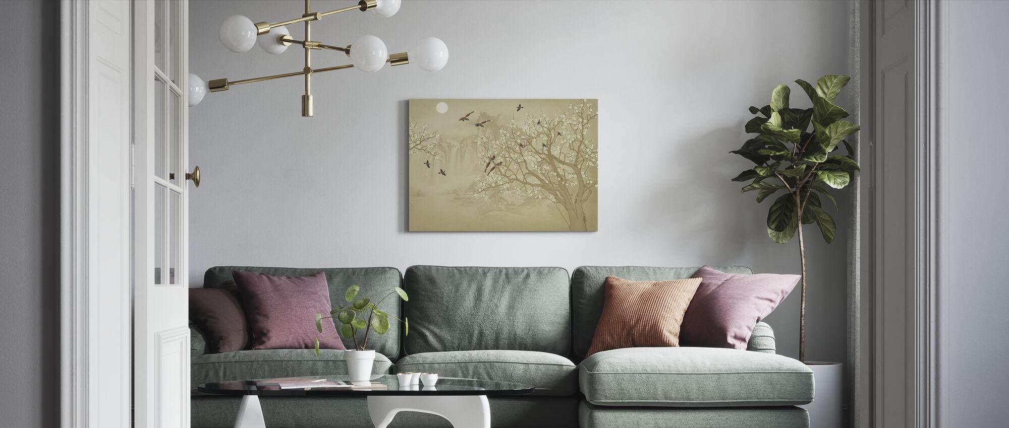 Fugler hjem - Hazel - Lerretsbilde - Stue
