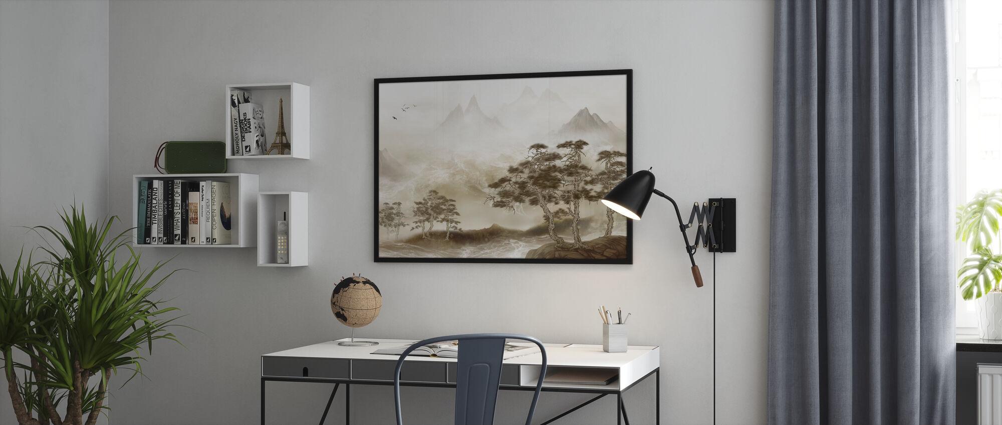 Zen landskap - Plakat - Kontor